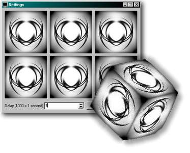 SLX 3D Cube Screenshot