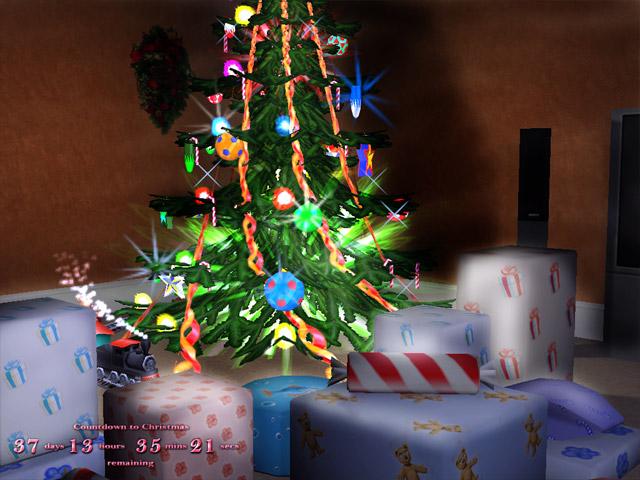 3D Merry Xmas Screensaver Screenshot