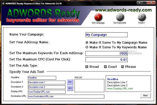 Adwords Ready Screenshot 1