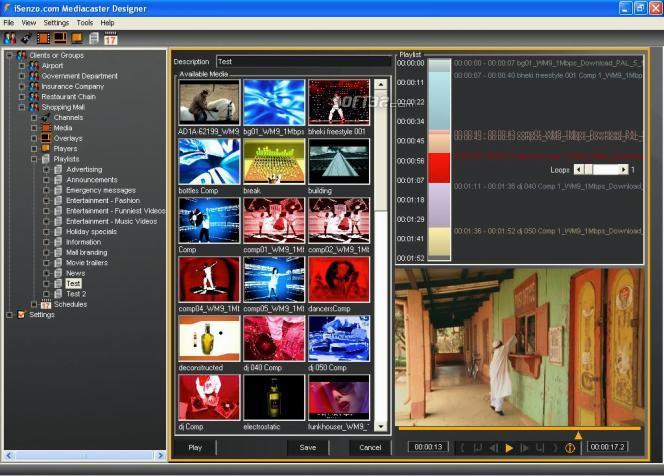 Isenzo Mediacaster Screenshot 3