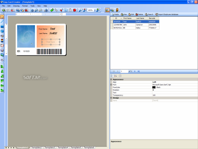 Easy Card Creator Enterprise Screenshot 4
