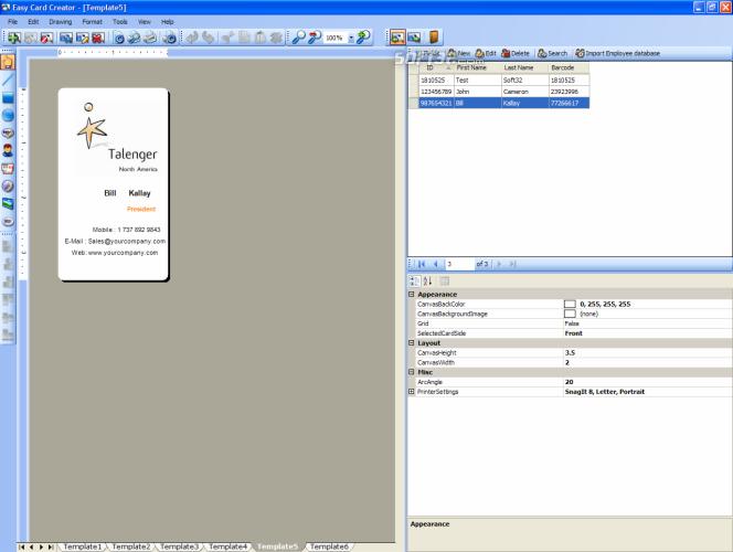 Easy Card Creator Enterprise Screenshot 5