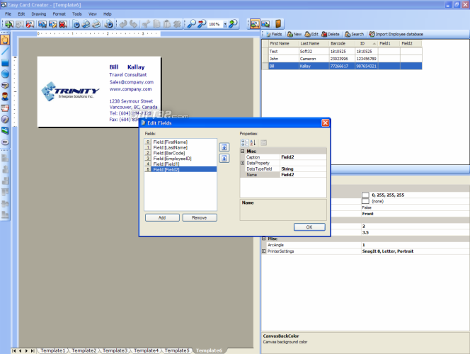 Easy Card Creator Enterprise Screenshot 6