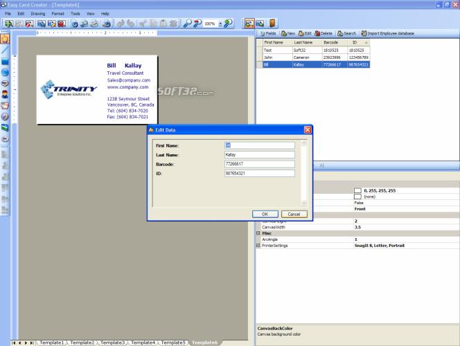 Easy Card Creator Enterprise Screenshot 7