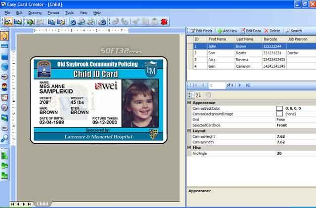 Easy Card Creator Enterprise Screenshot 3
