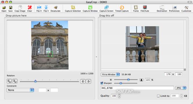 EasyCrop Screenshot 2