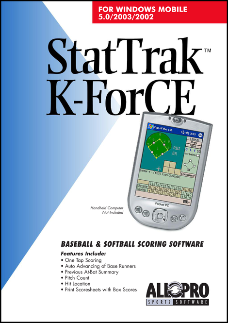 StatTrak K-ForCE for Pocket PC Screenshot