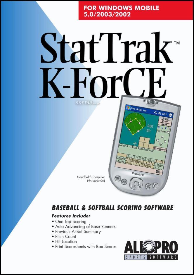 StatTrak K-ForCE for Pocket PC Screenshot 3