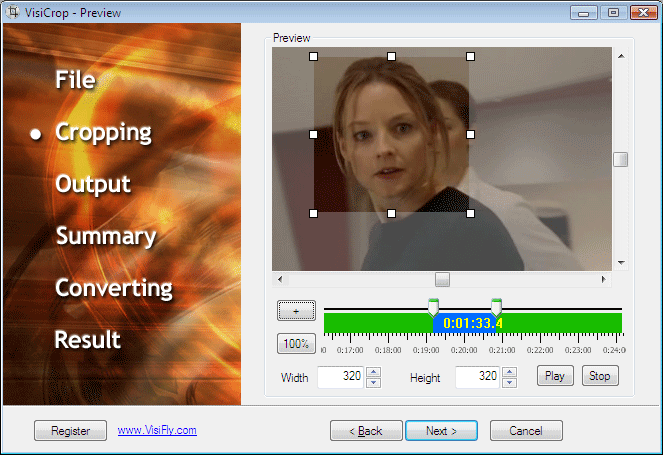 VisiCrop Screenshot
