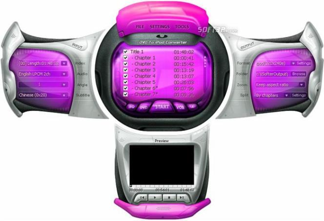 i-Softer DVD to iPod Converter Screenshot 2