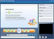 Xilisoft DVD Subtitle Ripper Screenshot 2