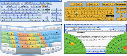 Comfort On-Screen Keyboard Pro Screenshot 1
