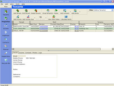 Rental Property Manager 2 Screenshot 1