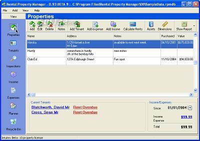 Rental Property Manager 2 Screenshot 2