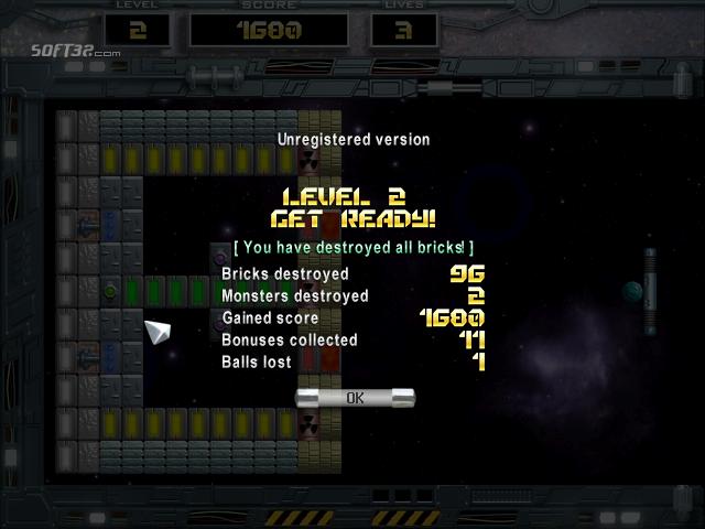 Arkanoid: Space Ball Mac Screenshot 5