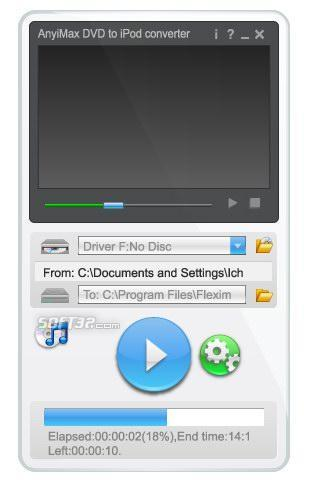 AnyiMax DVD to iPod Converter Screenshot 3
