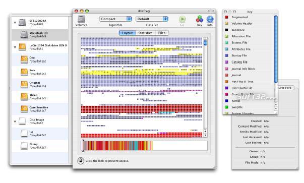 iDefrag Screenshot