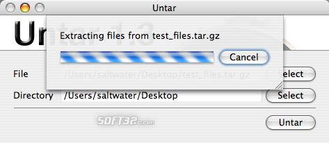 Untar Screenshot 2