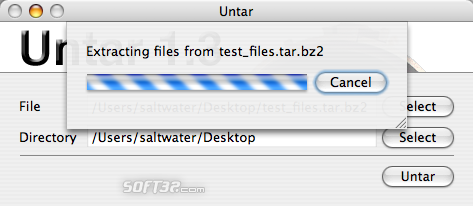Untar Screenshot 7