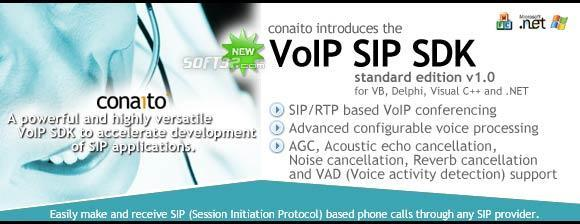 VoIP SIP SDK with DLL, ActiveX and .NET Screenshot 3