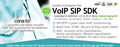 VoIP SIP SDK with DLL, ActiveX and .NET 2