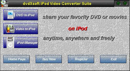 X-Soft Zune Video Converter Suite Screenshot 1
