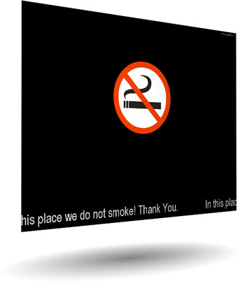 No Smoking Screensaver Screenshot 1
