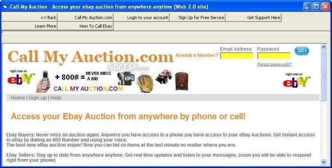 Call My Auction Screenshot