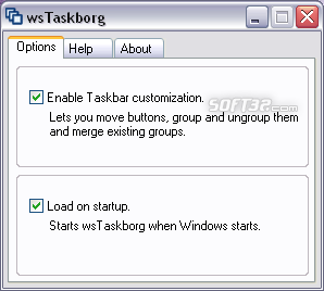 wsTaskborg Screenshot 2