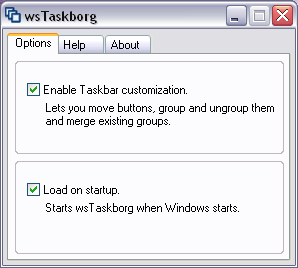 wsTaskborg Screenshot
