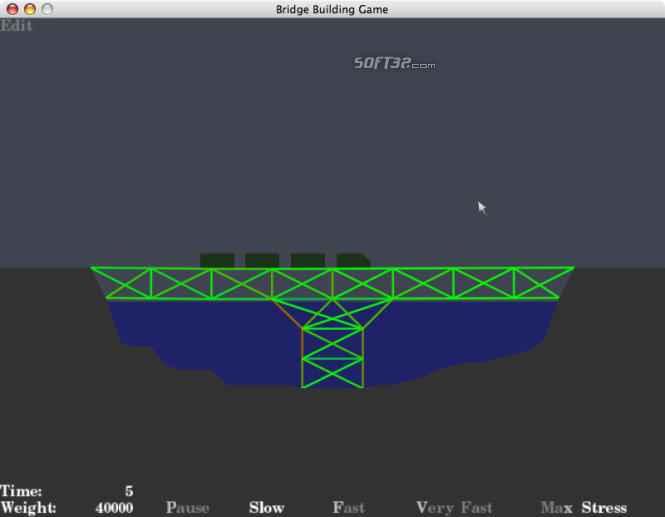 Bridge Building Game Screenshot 2