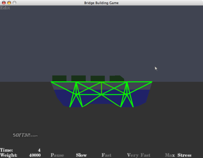Bridge Building Game Screenshot 3
