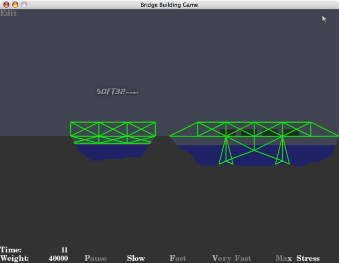 Bridge Building Game Screenshot 4