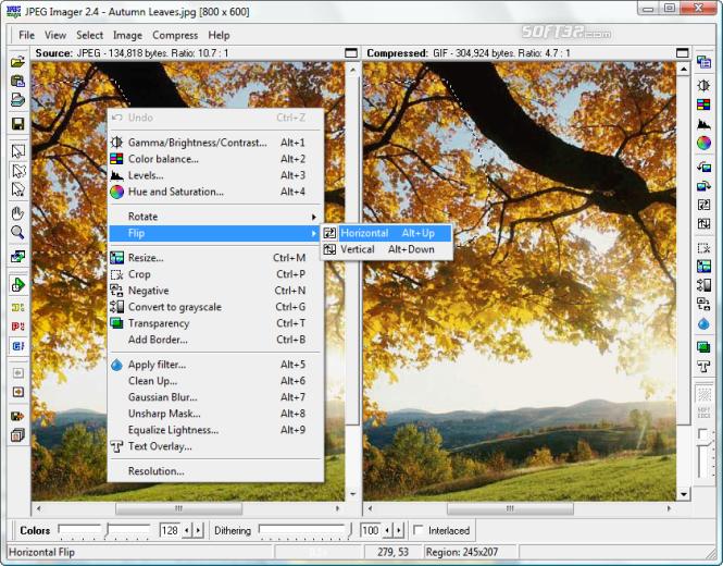 JPEG Imager Screenshot 2