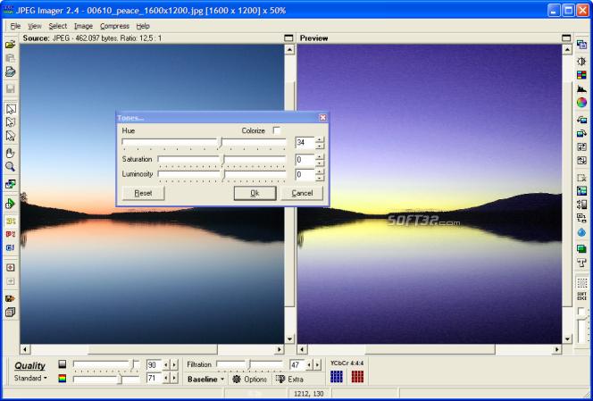 JPEG Imager Screenshot 3