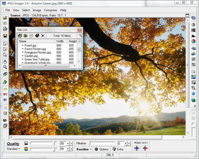 JPEG Imager Screenshot 5