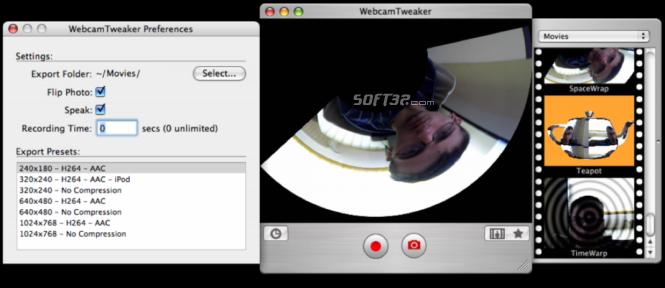 WebcamTweaker Screenshot