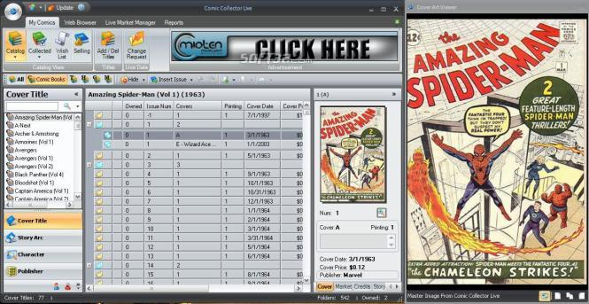 Comic Collector Live Screenshot 3