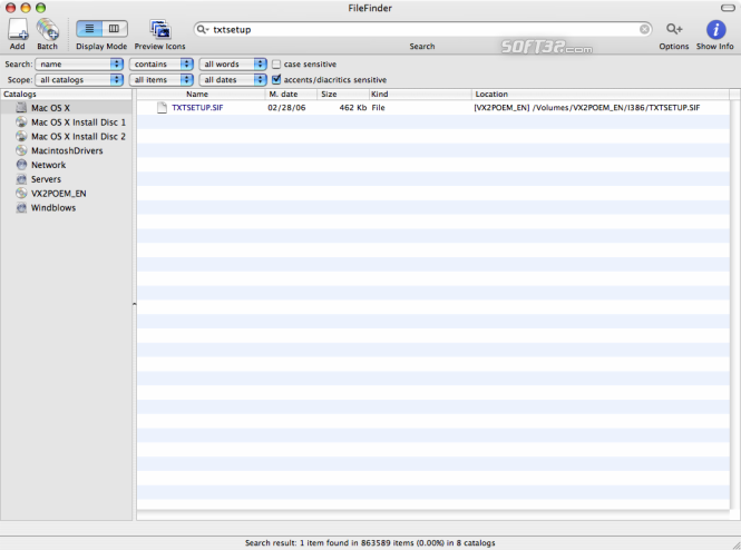 FileFinder Screenshot 4