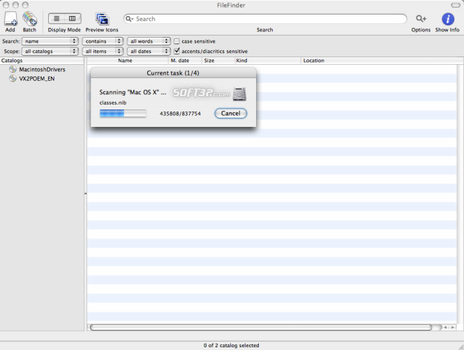 FileFinder Screenshot