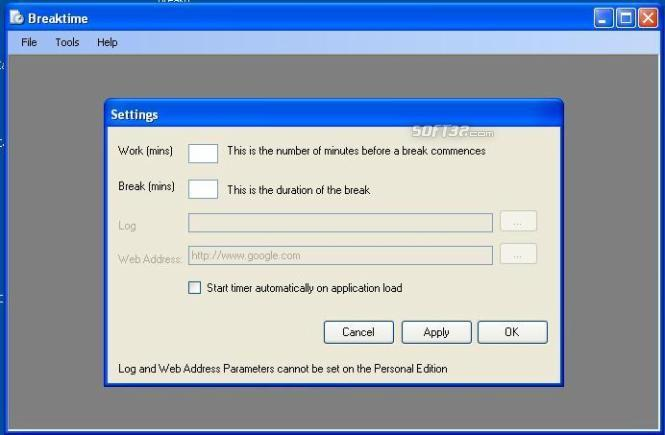 Breaktime SME Screenshot 1
