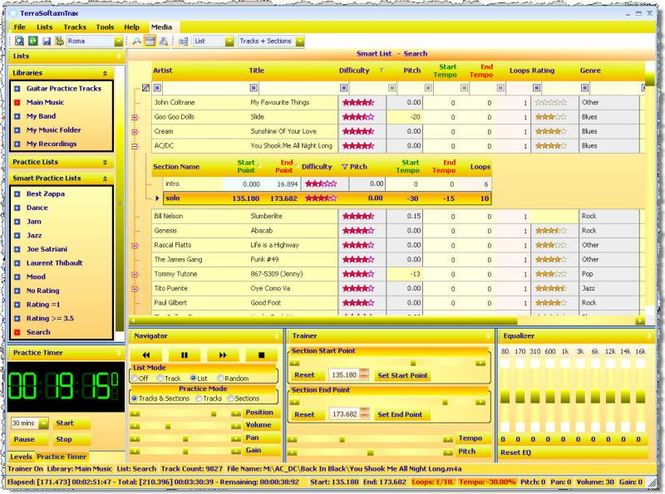 mTrax Screenshot