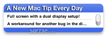 A New Mac Tip Every Day Screenshot