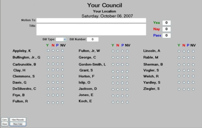 CTRVoter25 Screenshot