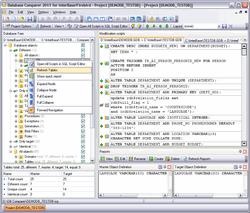 EMS DB Comparer for InterBase/Firebird Screenshot 1