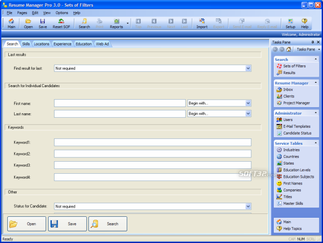 Resume Manager Pro Screenshot 5