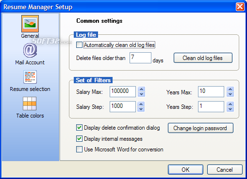 Resume Manager Pro Screenshot 6