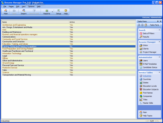 Resume Manager Pro Screenshot 8