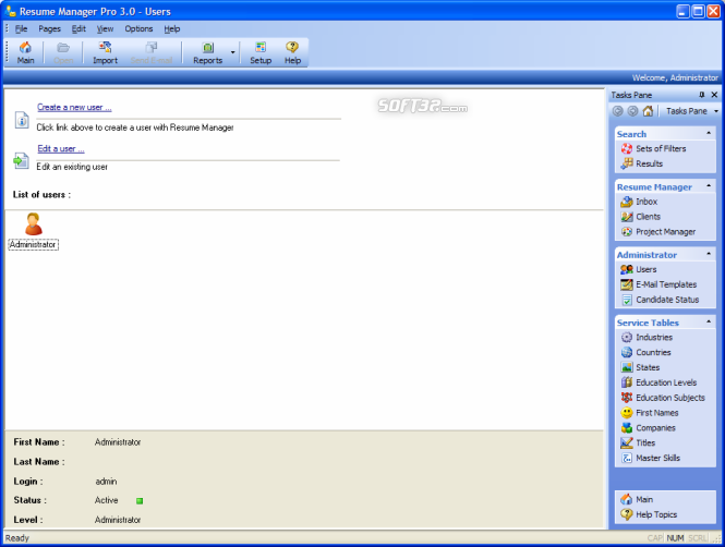 Resume Manager Pro Screenshot 9