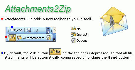 Attachments2Zip for Outlook Screenshot